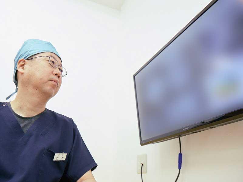 歯科用CT撮影などによる精密検査
